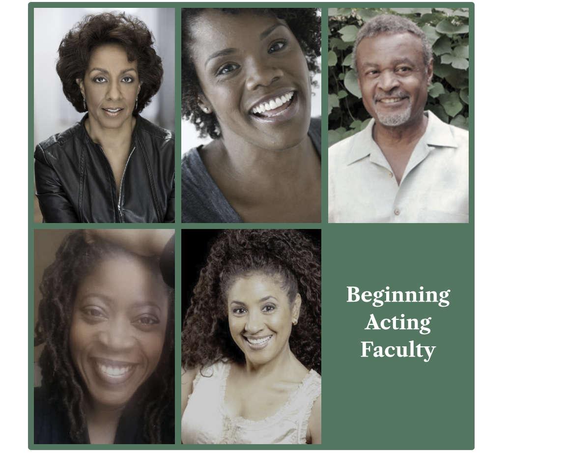 Beginning Acting Workshop Faculty