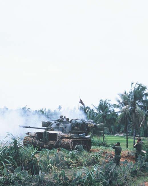 M48 Tank in Vietnam